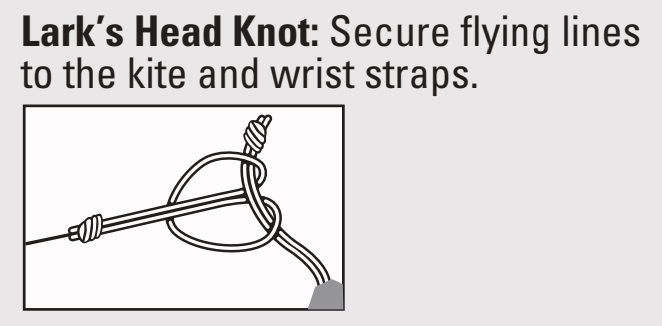 Diagram of a Larks Head knot