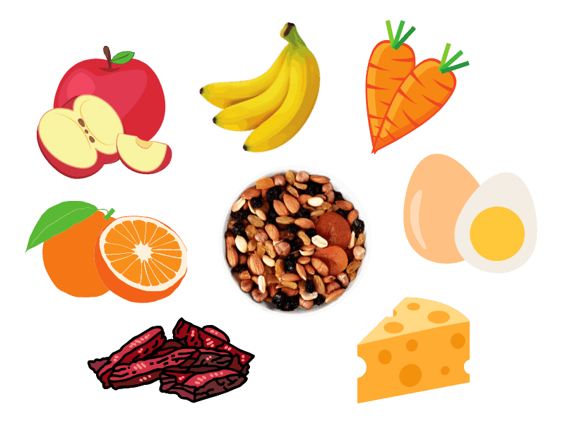 Healthy snacks to bring along on a kite-flying trip